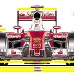 design formule 1 2017 giorgio piola 9