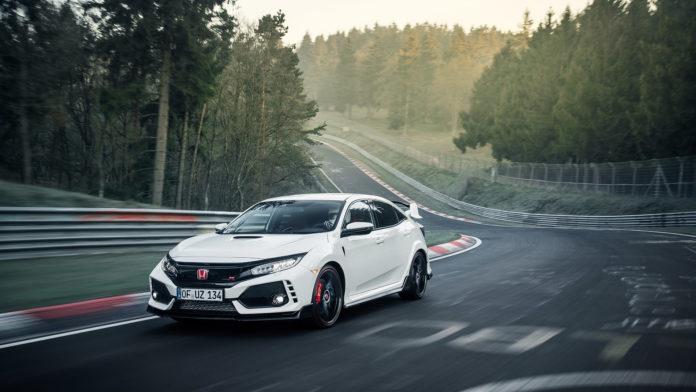 Honda Civic Type R 2017 Nurburgring