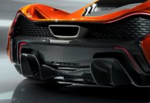 McLaren P1 diffuseur downshift