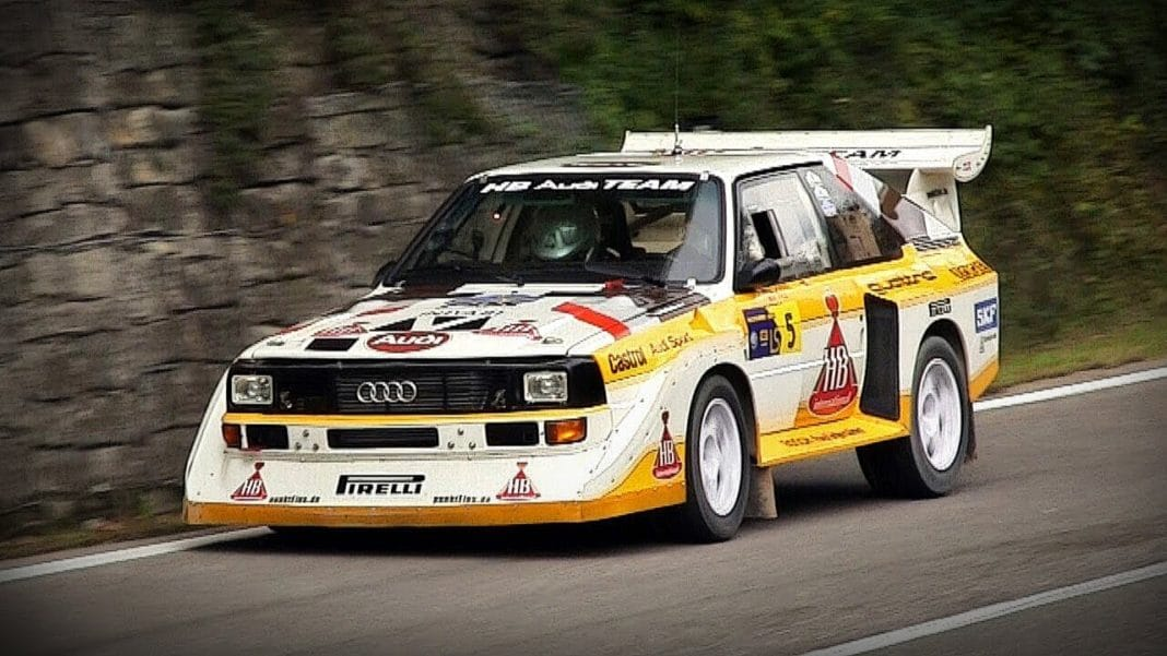 the audi sport quattro s1 rallying in motion by petrolicious. Black Bedroom Furniture Sets. Home Design Ideas
