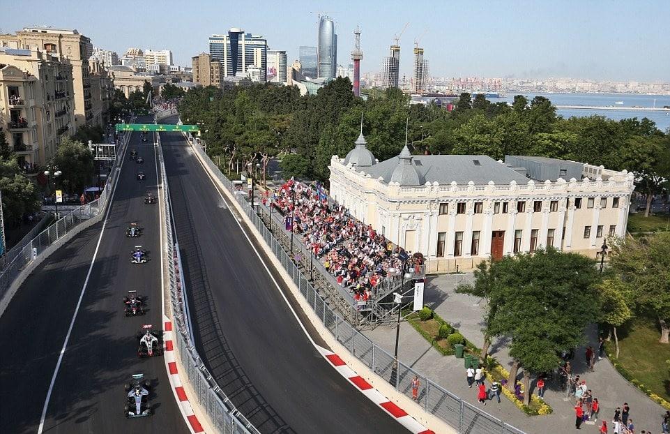 Circuit Formule 1 Baku Azerbaïdjan 2017