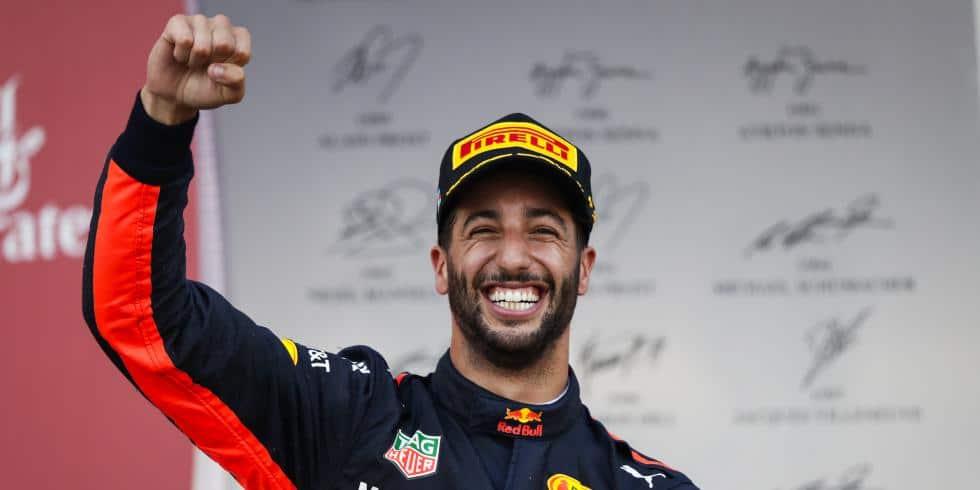 Daniel Ricciardo GP Azerbaïdjan 2017