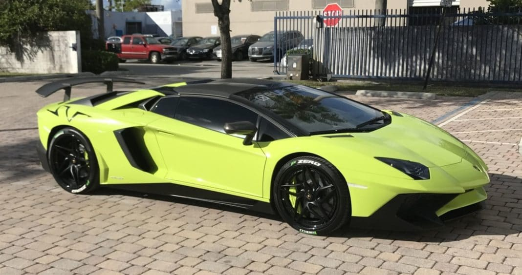 Lamborghini Aventador SV Gino Gargiulo
