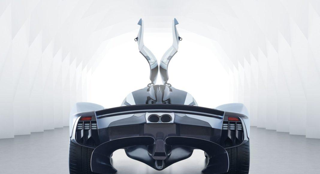 Aston Martin Valkyrie derrière arrière
