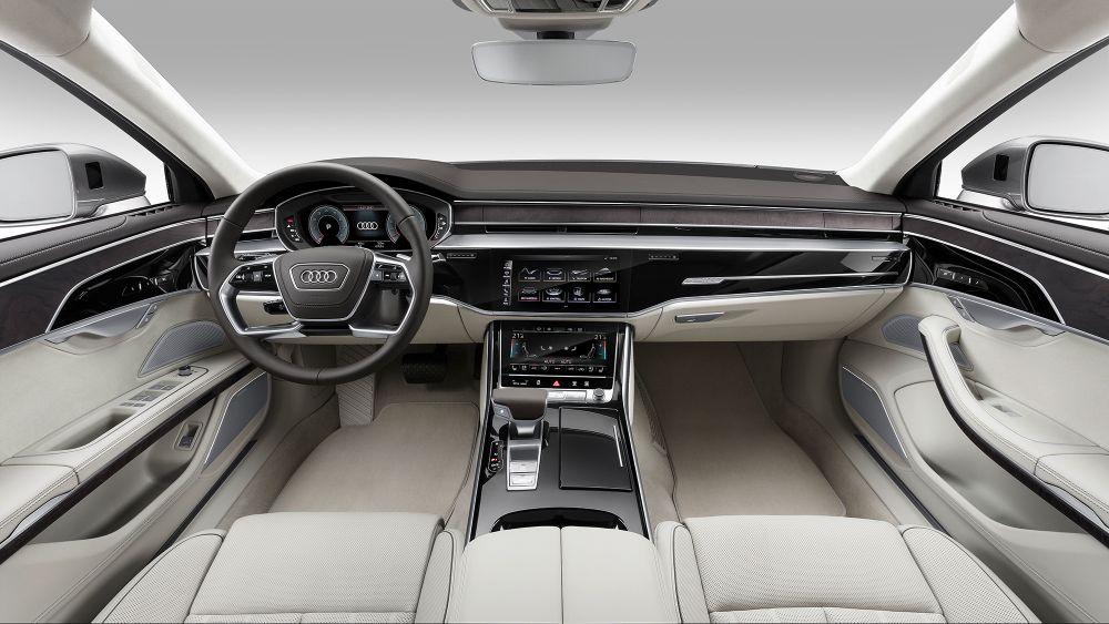 Audi A8 nouvelle 2017 interieur