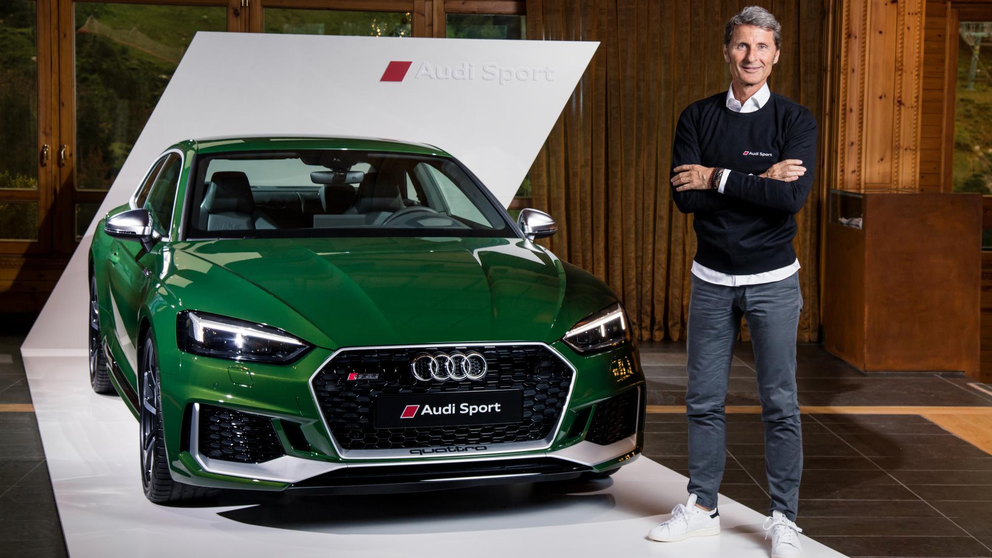 Futur d'Audi Sport Stephan Winkelmann