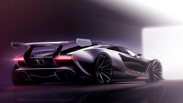 Nouvelle supercar de McLaren, la P15