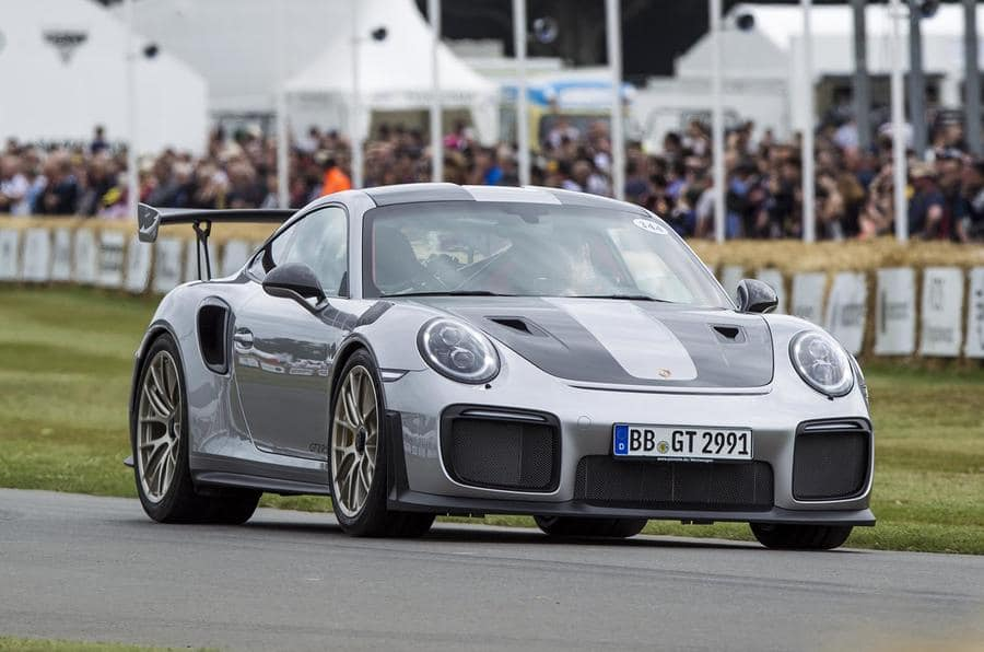 Porsche GT2 RS Goodwood 2017