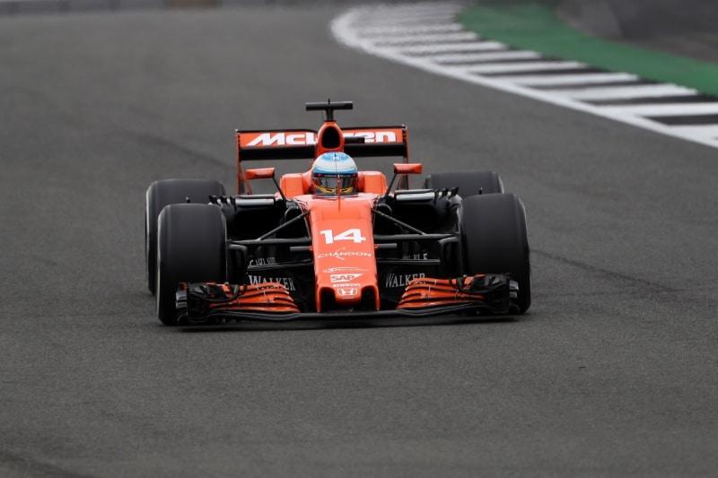 Alonso abandon GP de Grande Bretagne 2017
