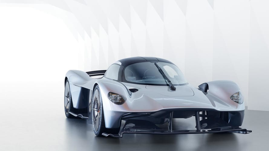 Aston Martin Valkyrie face avant