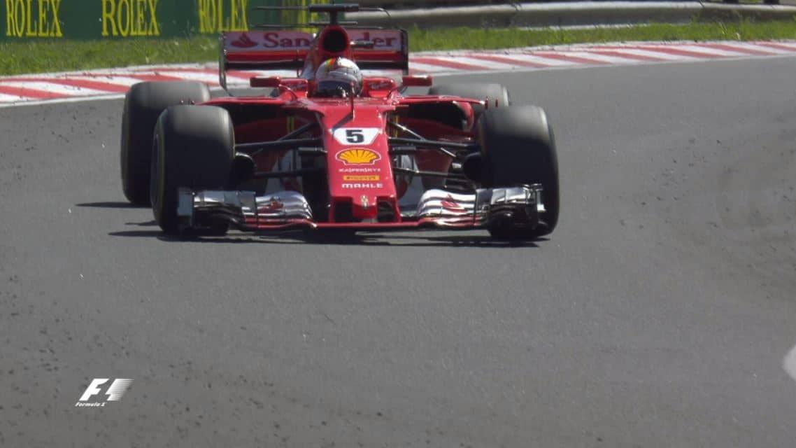Victoire de Vettel au Grand Prix de Budapest 2017