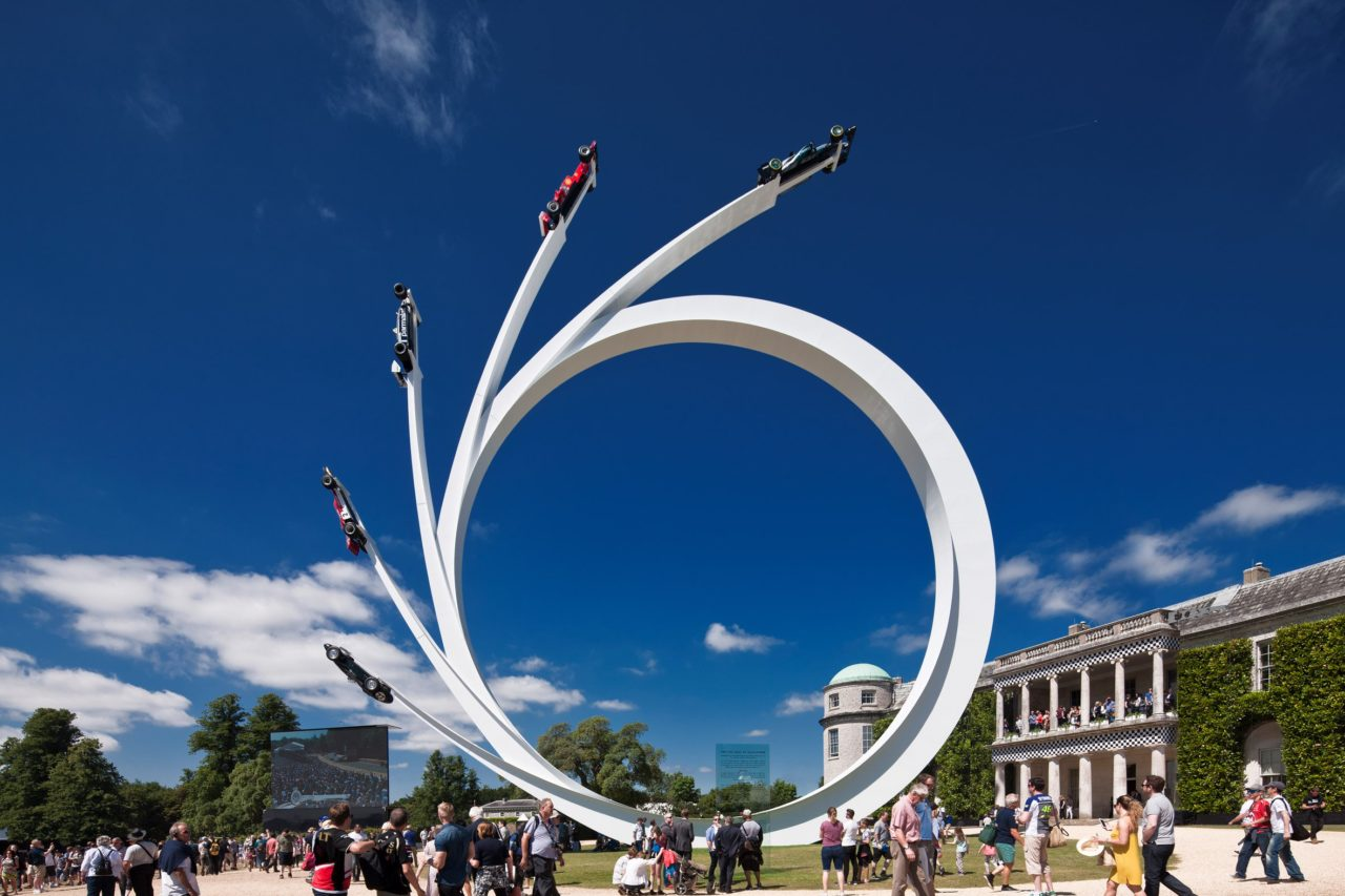 Gerry Judah Sculpture Goodwood 2017