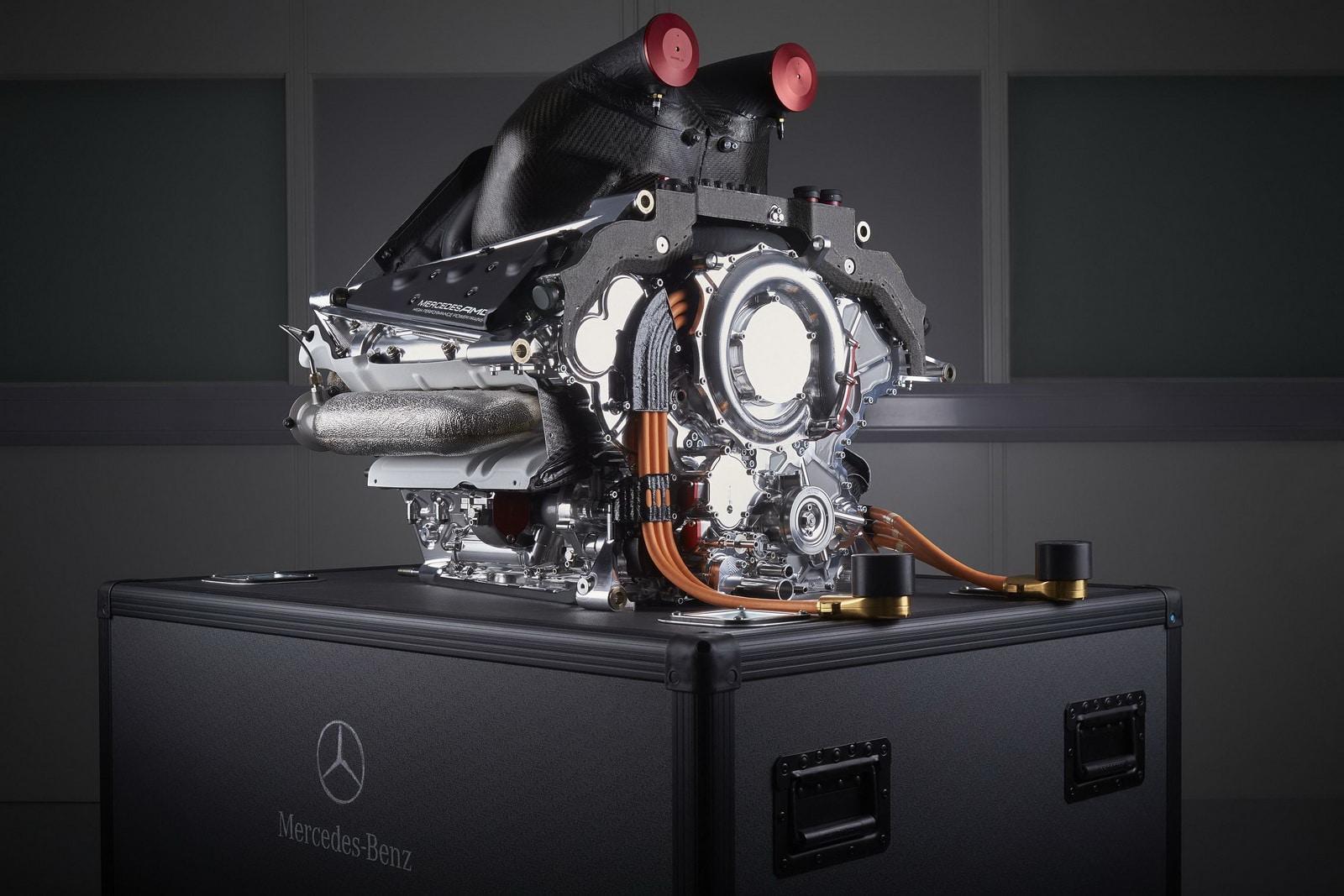 Moteur Mercedes AMG Formule 1 2017