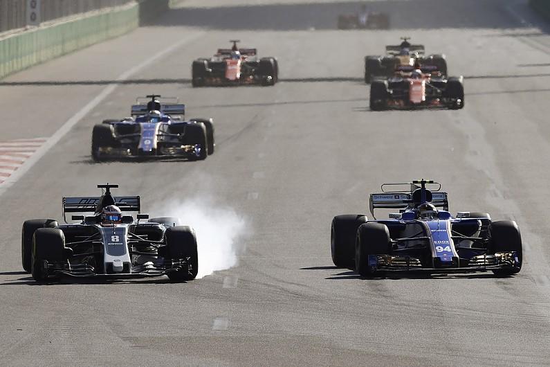 Romain Grosjean problème freinage Brembo