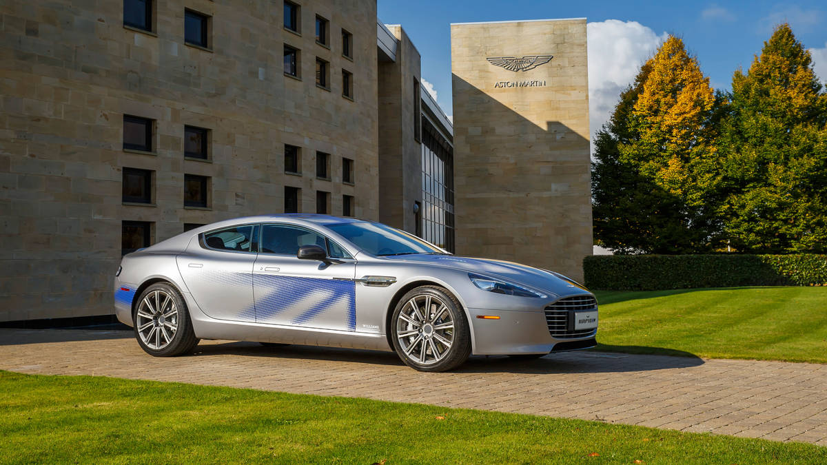 Aston Martin roadmap hybride electrique
