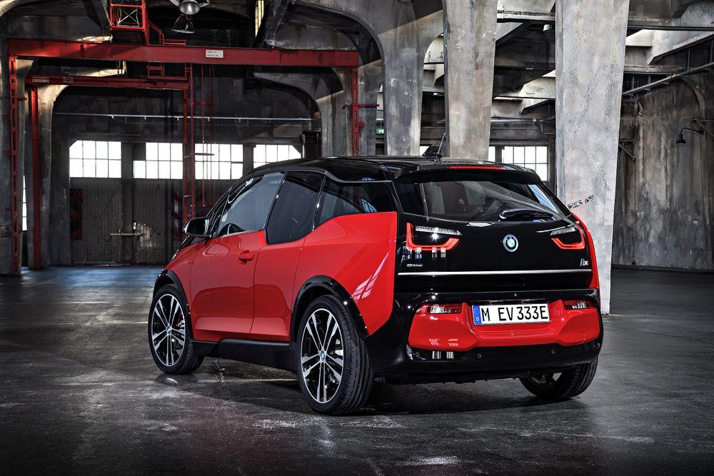 BMW i3s electrique arriere