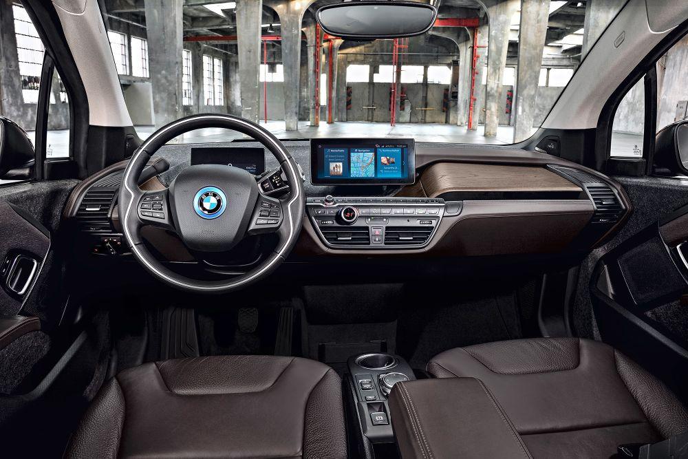 BMW i3s electrique interieur