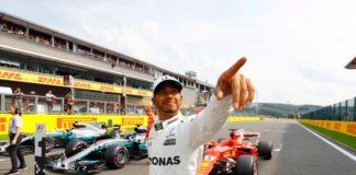 Lewis Hamilton Grand Prix De Belgique 2017