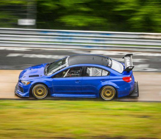 Subaru WRX STI Nürburgring Record Attempt