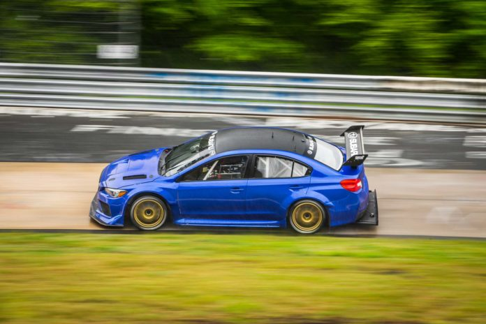Subaru WRX STI Nürburgring Record Attempt