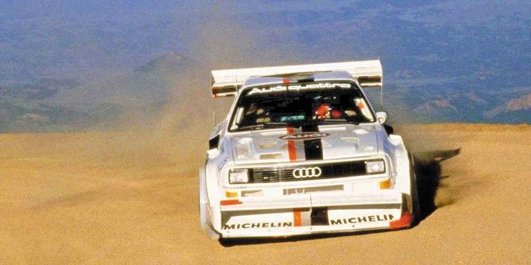 Audi Quattro 5 cylindres en ligne Pikes Peak