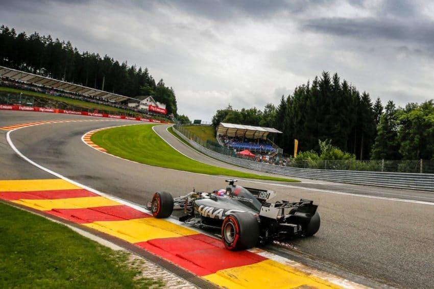 Romain Grosjean Grand Prix de Belgique 2017