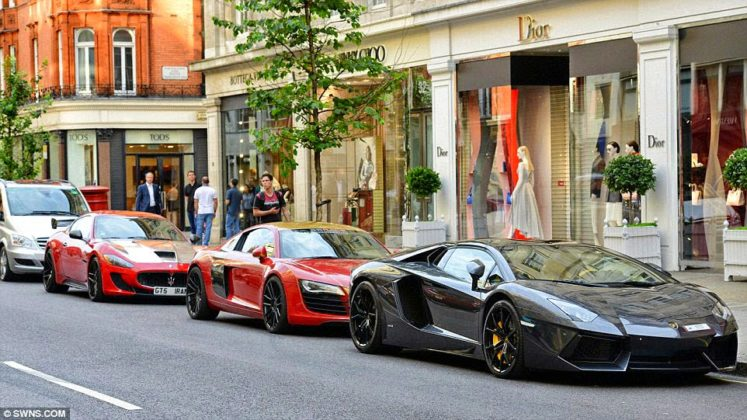Supercars Londres