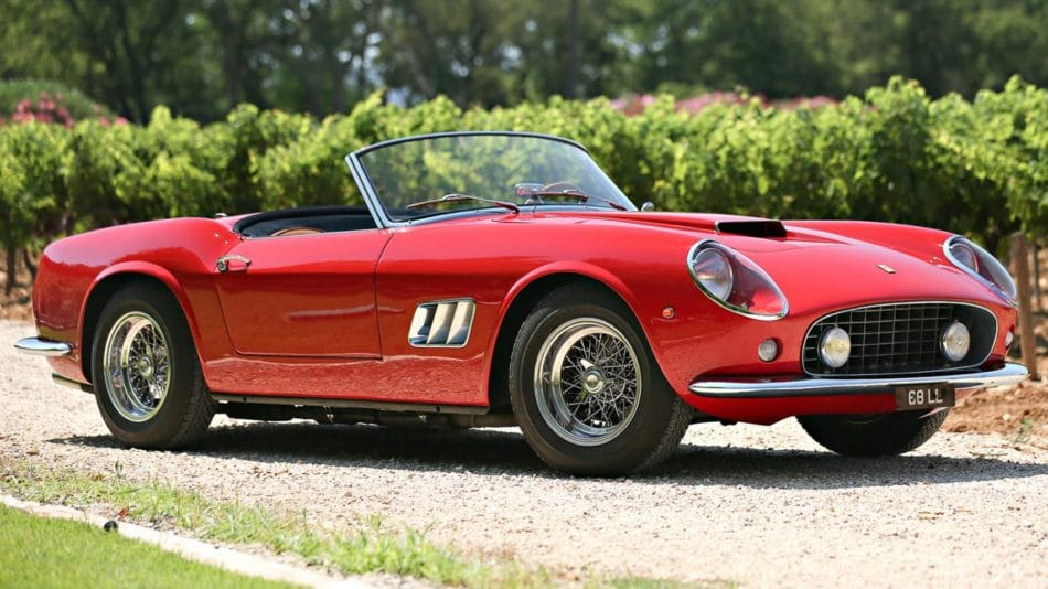 Ferrari 250 GT California Spider - 70 ans de Ferrari