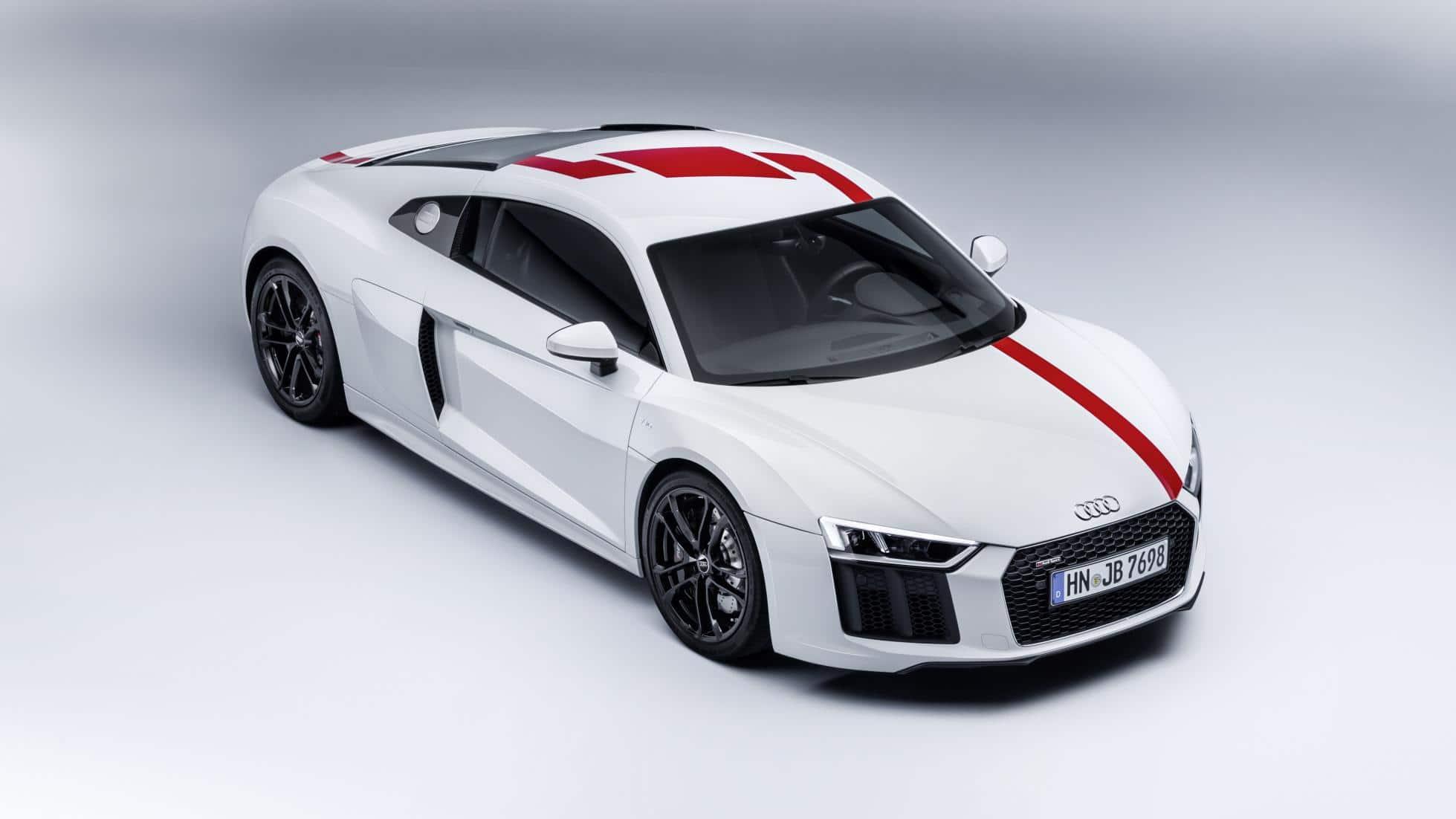 Francfort 2017 : l'Audi R8 V10 en mode propulsion avec la RWS