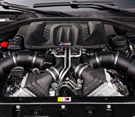 BMW M - Moteur d'une BMW M5