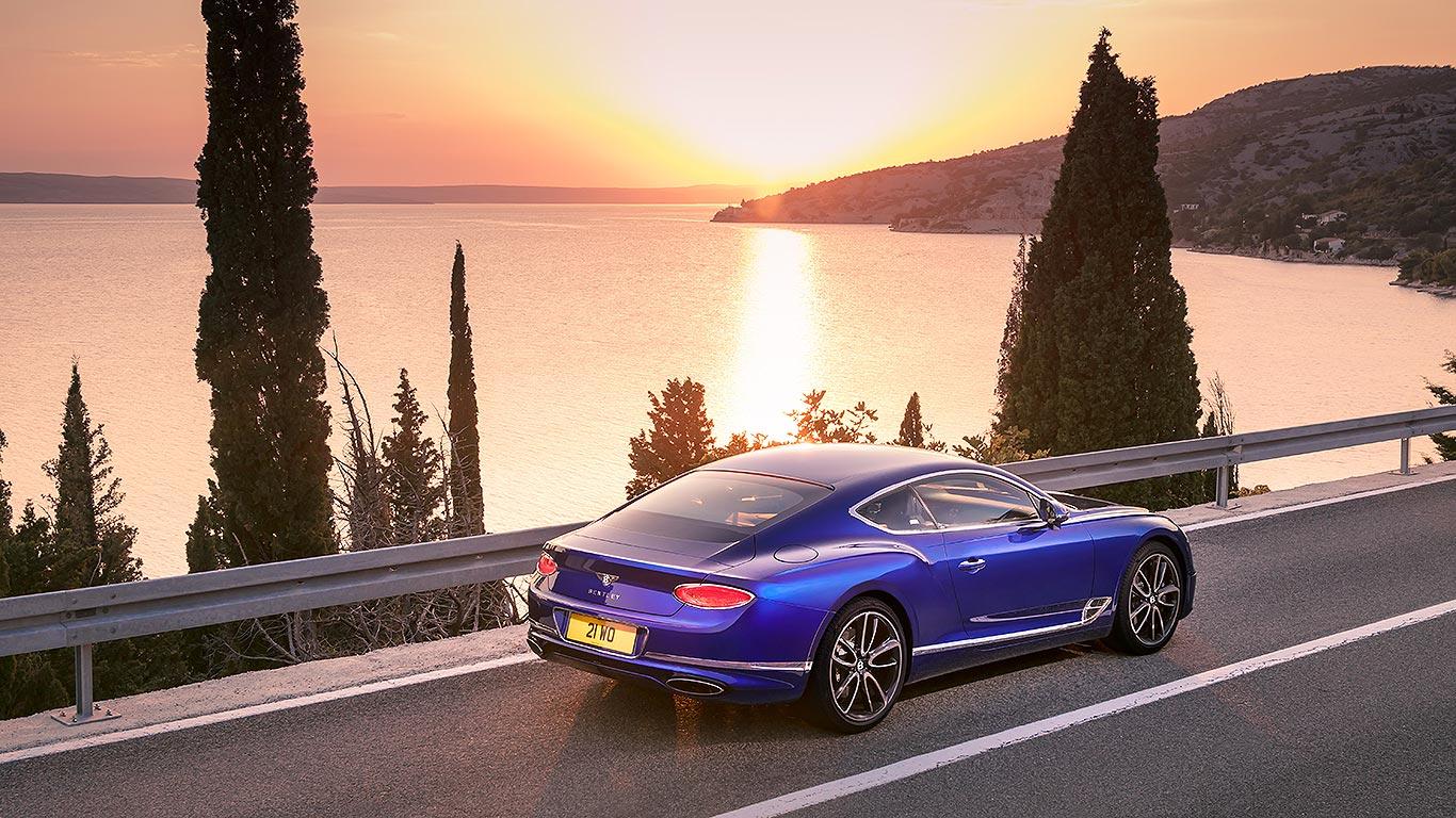 Bentley Continental GT 2018 arrière