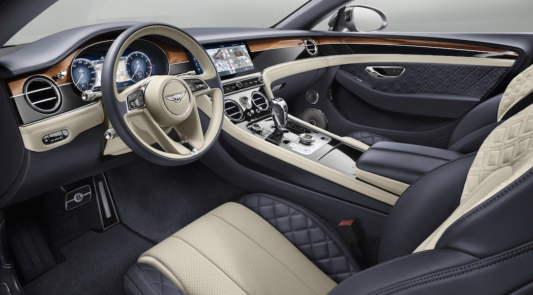 Bentley Continental GT 2018 interieur