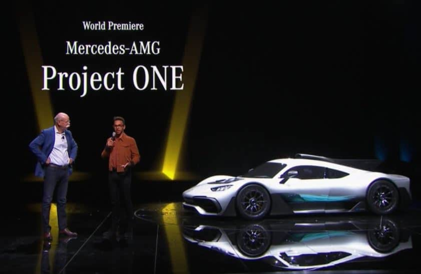 Mercedes-AMG Project One - IAA Francfort 2017