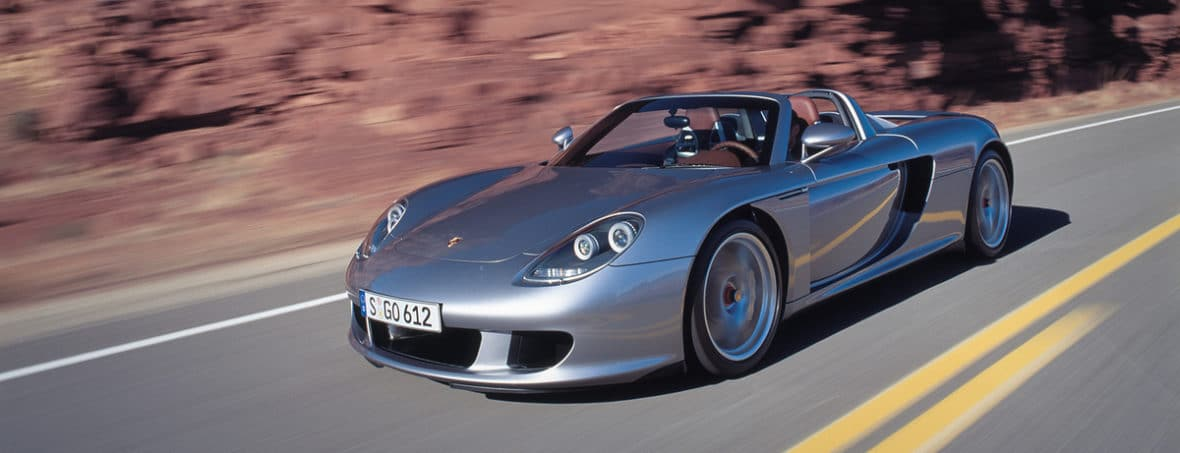 Moteur de F1 - Porsche Carrera GT