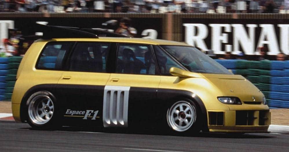 Moteur de F1 - Renault Espace F1