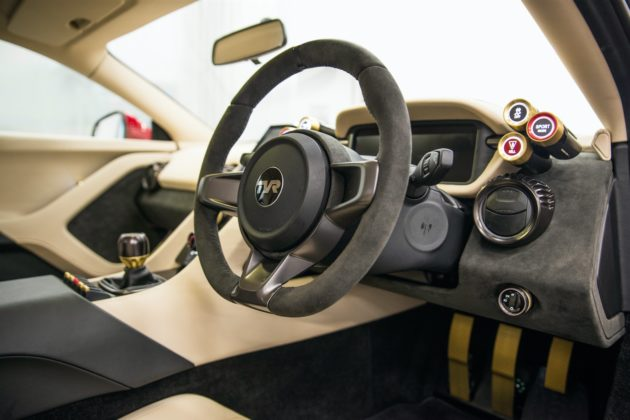 TVR Griffith V8 2019 interieur