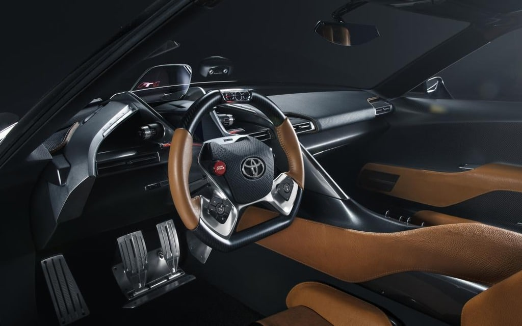 Interieur Toyota Supra (2019) FT-1