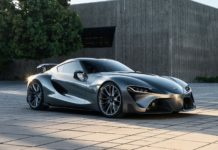 Toyota Supra (2019) FT-1 Concept Car