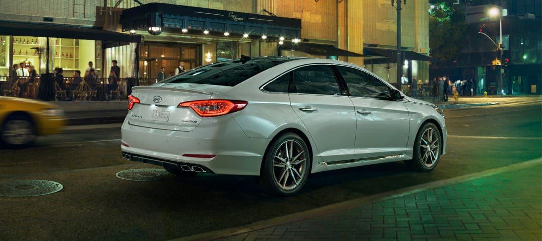 Hyundai Sonata 2017 - 2.0 litres turbo