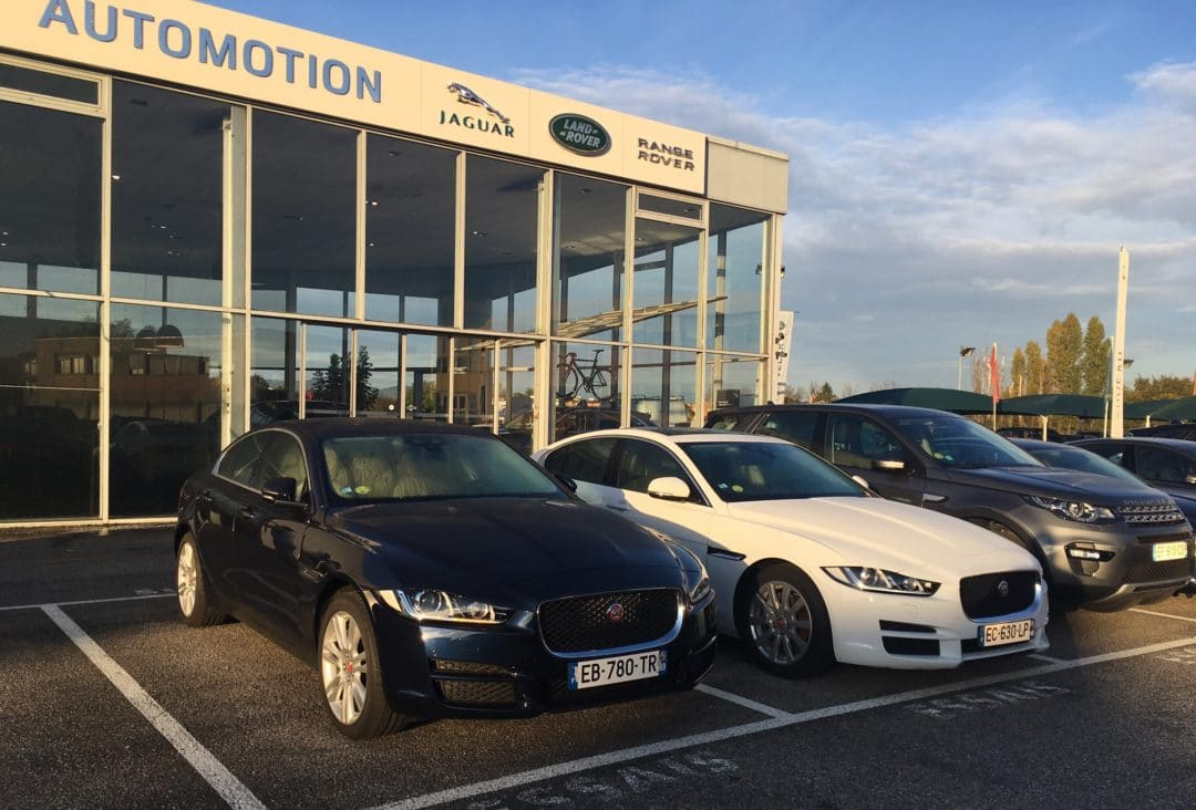 Jaguar XE - Concession Jaguar Land Rover Automotion Lyon