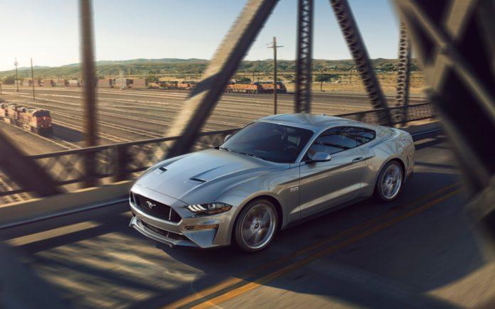 Mode Silencieux sur la prochaine Ford Mustang (2018) doté d'un V8 de 5.0L