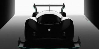 Volkswagen supercar electric pikes peak