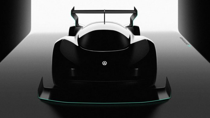 Volkswagen supercar electric pikes peak