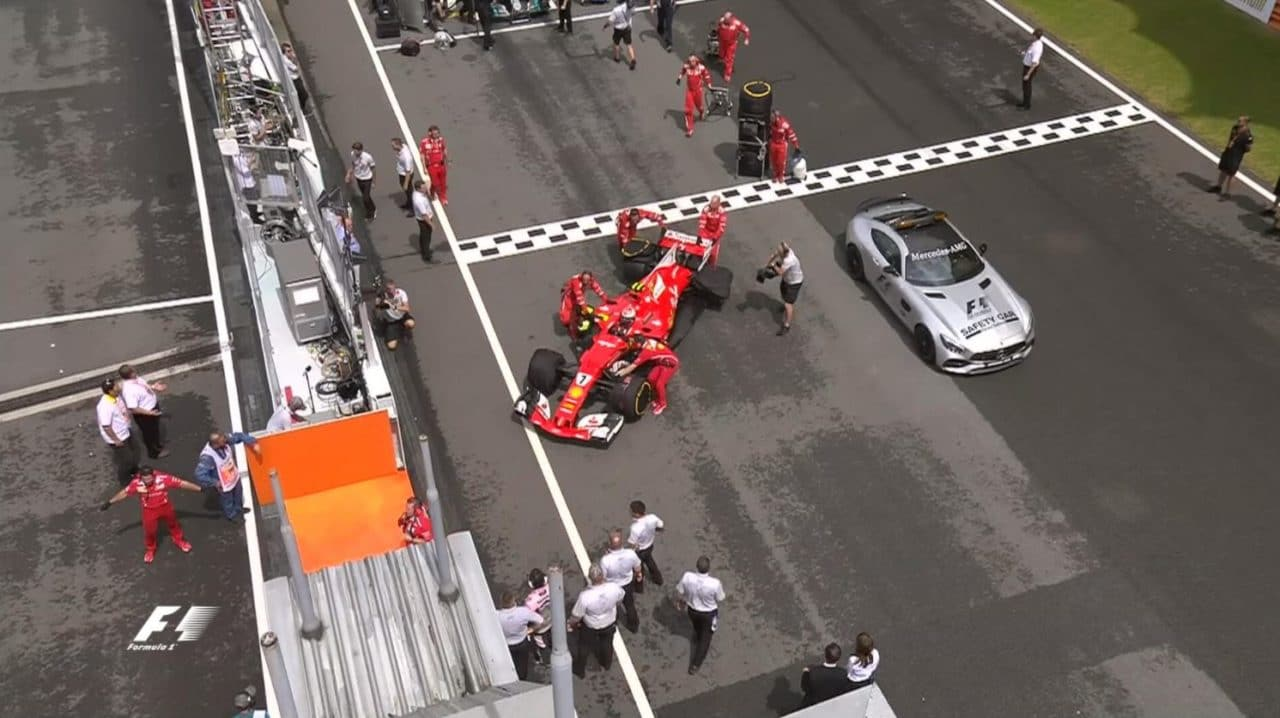 Abandon de Kimi Raikkonen au Grand Prix de Malaisie 2017