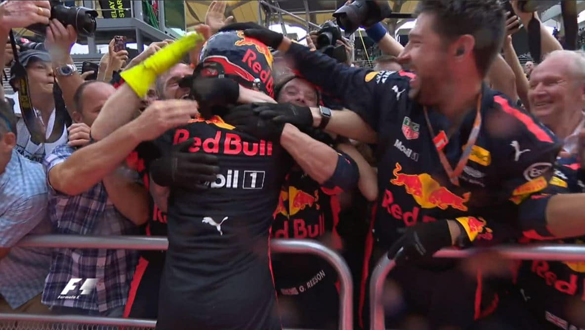 Max Verstappen Grand Prix de Malaisie 2017