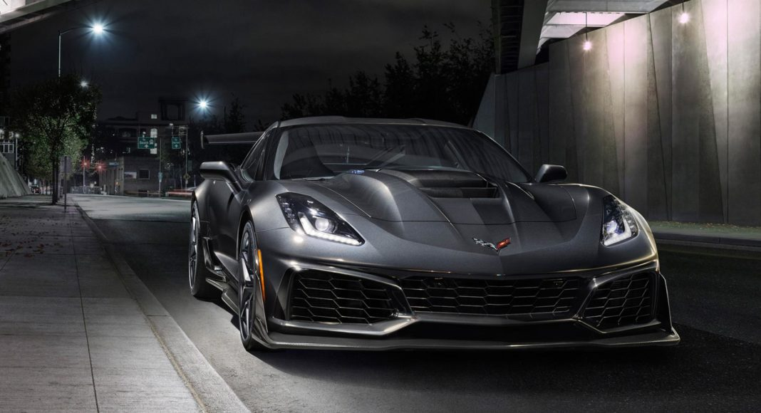 Nouvelle Chevrolet Corvette ZR1