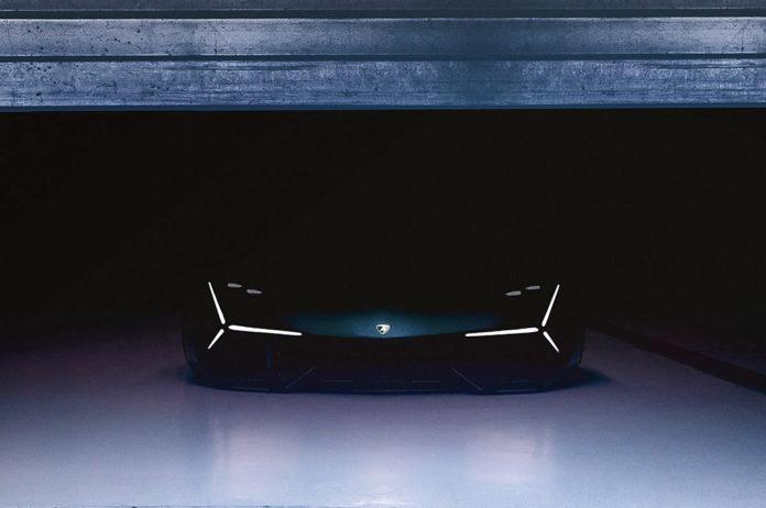 Future supercar hybride, descendante de Huracan, développée avec MIT.