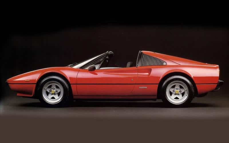 Ferrari 308 GTB-GTS (1975) - Moteur central arrière