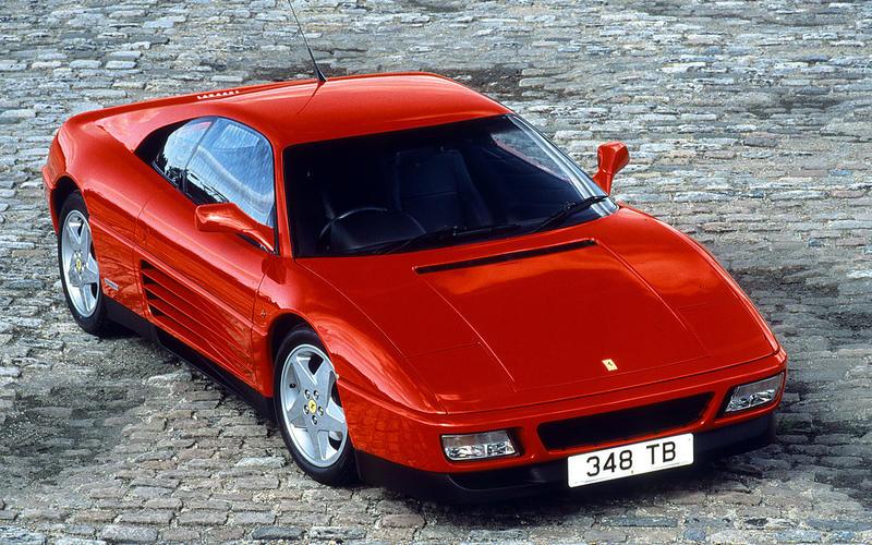 Ferrari 348 TB-TS (1989) - Moteur central arrière