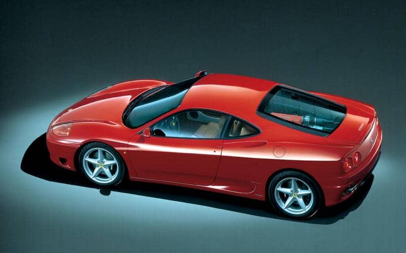Ferrari 360M (1999) - Moteur central arrière